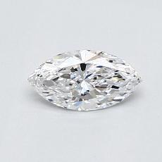 0.40-Carat Marquise Diamond Very Good D VVS1