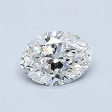 0.70-Carat Oval Diamond Very Good F VS1