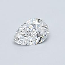 0.42-Carat Pear Diamond Very Good D VS2