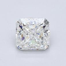 0.83-Carat Radiant Diamond Very Good G IF