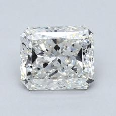 Recommended Stone #2: 1,09-Carat Radiant Cut Diamond