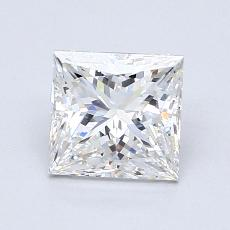 Recommended Stone #3: 1,22-Carat Princess Cut Diamond