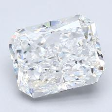 Recommended Stone #2: 2.51-Carat Radiant Cut Diamond