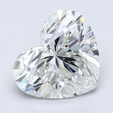 Recommended Stone #3: 2.07-Carat Heart Cut Diamond