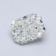 0.91-Carat Radiant Diamond Very Good J SI1