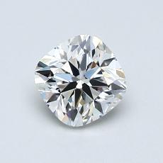 推薦鑽石 #3: 0.91 克拉墊形切割