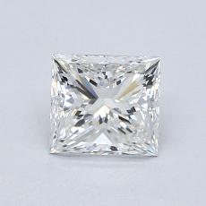 1.01-Carat Princess Diamond Very Good F IF