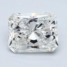 Pierre recommandée n°3: Diamant Taille radiant de 1,51carat
