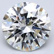4.01-Carat Round Diamond Ideal E VS1