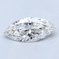 Recommended Stone #3: 0.70-Carat Marquise Cut Diamond