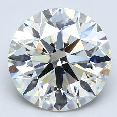 Recommended Stone #2: 3.11-Carat Round Cut Diamond