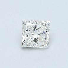 Recommended Stone #2: 0.41-Carat Princess Cut Diamond