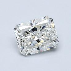 Pierre cible: Diamant taille radiant 0,90 carats