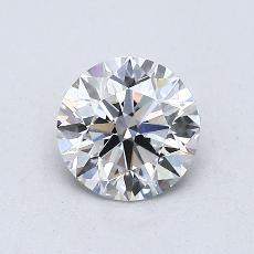 0.70 Carat 圓形 Diamond 理想 F VS2