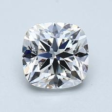 推荐宝石 3:1.05 克拉垫形钻石