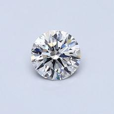 0.41-Carat Round Diamond Ideal J VS2