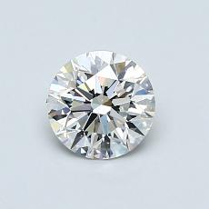 0.70 Carat 圆形 Diamond 理想 G VVS2