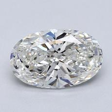 2.00 Carat 椭圆形 Diamond 非常好 G VS2