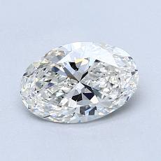 0.90-Carat Oval Diamond Very Good G VS2