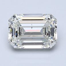 Pierre recommandée n°3: Diamant taille émeraude 1,65 carat