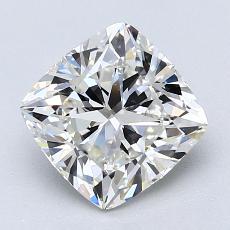 2.01-Carat Cushion Diamond Very Good H VS1