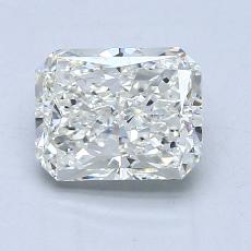 1.51-Carat Radiant Diamond Very Good J SI1