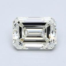 Pierre cible: Diamant taille émeraude 1,20 carat