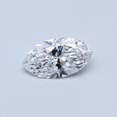 0.30-Carat Marquise Diamond Very Good E VS2