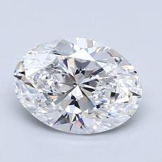 Recommended Stone #2: 1,52-Carat Oval Cut Diamond