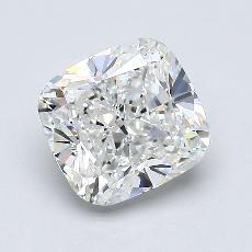 Pierre recommandée n°1: Diamant Taille coussin de 2,01carat