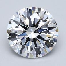 推荐宝石 3:4.50克拉圆形切割钻石
