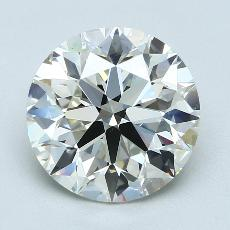 4.01 Carat 圓形 Diamond 理想 K VS2