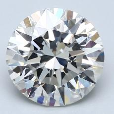 Recommended Stone #3: 3.02-Carat Round Cut