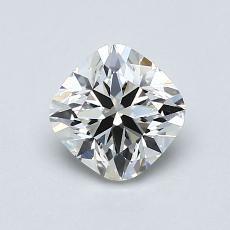 推荐宝石 4:0.91 克拉垫形钻石