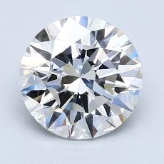 2.01 Carat Redondo Diamond Ideal E VVS1
