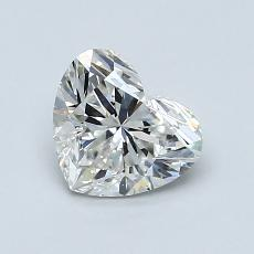 1.00-Carat Heart Diamond Very Good G VS2