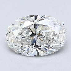 Recommended Stone #3: 1.44-Carat Oval Cut Diamond