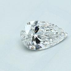 Recommended Stone #2: 0.72-Carat Pear Cut Diamond
