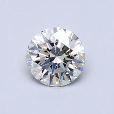 0.70 Carat 圆形 Diamond 理想 H VVS2