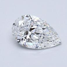 Recommended Stone #2: 1.19-Carat Pear Cut Diamond