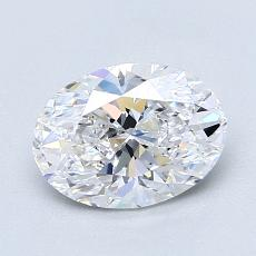 Recommended Stone #1: 1.30-Carat Oval Cut