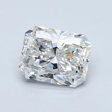 1.00-Carat Radiant Diamond Very Good G SI1