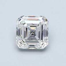 Recommended Stone #4: 0.96-Carat Asscher Cut Diamond