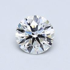 推荐宝石 1:0.78 克拉圆形切割