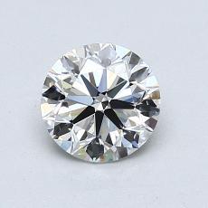 1.01 Carat 圆形 Diamond 非常好 E VS1