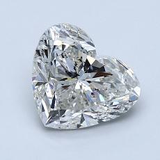 Piedra recomendada 3: Diamante con forma de corazón de 1.51 quilates