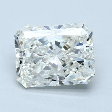 Pierre recommandée n°3: Diamant taille radiant 2,50 carats