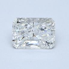 Recommended Stone #4: 0,80-Carat Radiant Cut Diamond