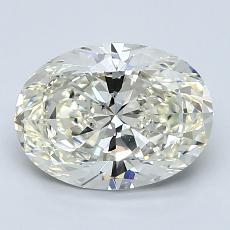 1.80-Carat Oval Diamond Very Good K SI1