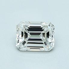 Recommended Stone #2: 0.70-Carat Emerald Cut Diamond